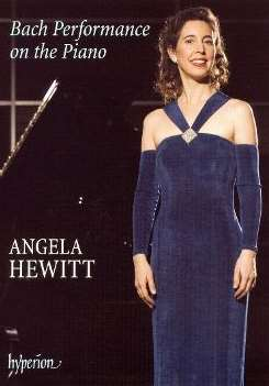 Angela Hewitt - Bach Performance on the Piano [DVD Video] flac album