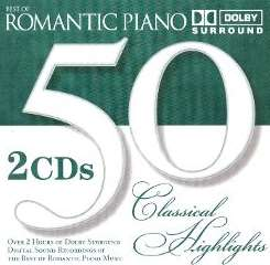Various Artists - 50 Classical Highlights: Romantic Piano flac album