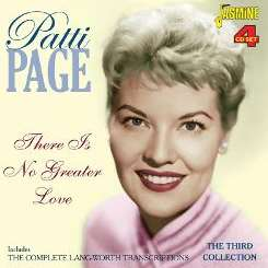 Patti Page - There is No Greater Love flac album