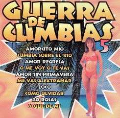 Various Artists - Guerra de Cumbia, Vol. 5 flac album