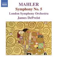 James DePreist - Mahler: Symphony No. 5 flac album