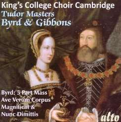 King's College Choir of Cambridge / David Willcocks - Tudor Masters: Byrd & Gibbons flac album