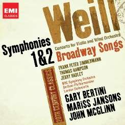 Various Artists - Weill: Symphonies Nos. 1 & 2; Concerto for Violin and Wind Orchestra; Broadway Songs flac album