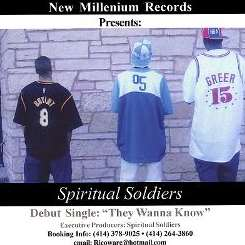 Spiritual Soldiers - We Wanna Know? flac album
