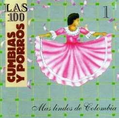 Various Artists - 100 Cumbias y Porros: Mas Lindos de Colombia, Vol. 3 flac album