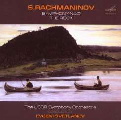 Evgeny Svetlanov - S. Rachmaninov: Symphony No. 2; The Rock flac album