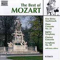 Various Artists - The Best of Mozart flac album
