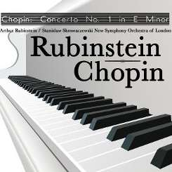 Arthur Rubinstein / Stanislaw Skrowaczewski / New Symphony Orchestra of London - Chopin: Piano Concerto No. 1 in E minor flac album