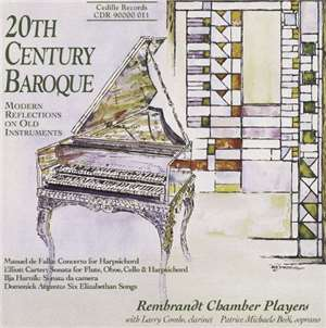 Rembrandt Chamber Players - 20th Century Baroque flac album