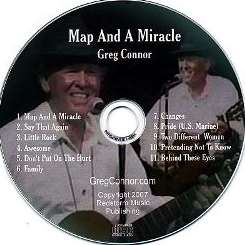 Greg Connor - Map and a Miracle flac album