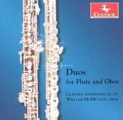 Claudia Anderson / William McMullen - Duos for Flute and Oboe flac album