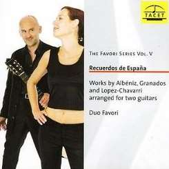 Duo Favori - The Favori Series V: Recuerdos de España flac album