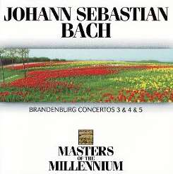 Various Artists - Bach: Brandenburg Concertos Nos. 3, 4 & 5 flac album